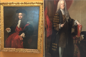 Portraits of former heads of the Royal College of Physicians